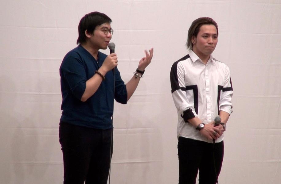 黄監督トークショーには映画出演者である玉木家の人々も登場しました!