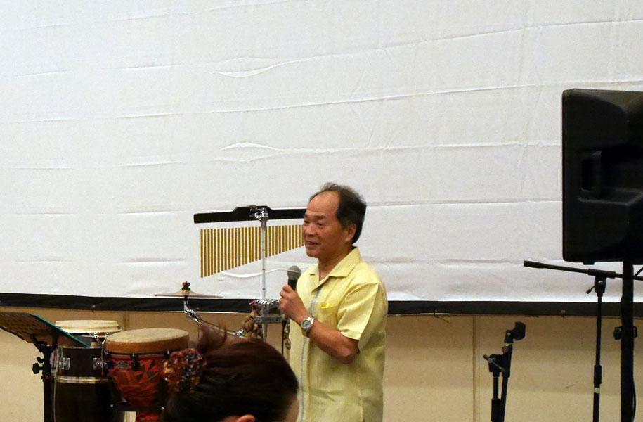 宮地竹史氏。今回のイベント期間中、パネル展も監修いただきました!