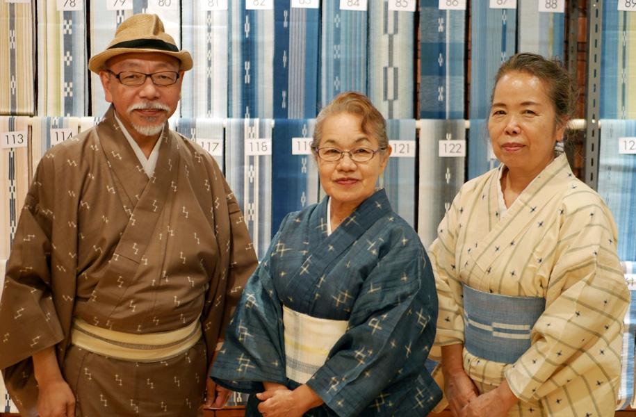 左から矢嶋孝敏様、島仲由美子様、松竹喜生子様