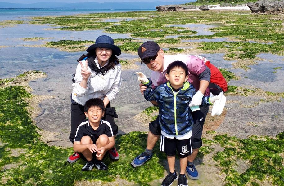 黒島のアーサ採り体験ツアーに参加してきました!