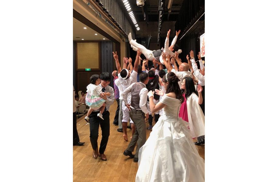 新婦さん、石垣島の結婚式にビックリだったようです^^