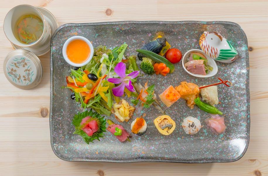 彩り惣菜の和ランチ