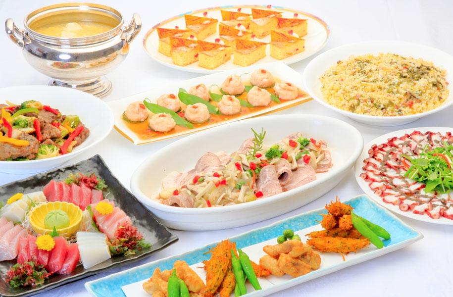 和洋中卓料理(お一人様4,120円)