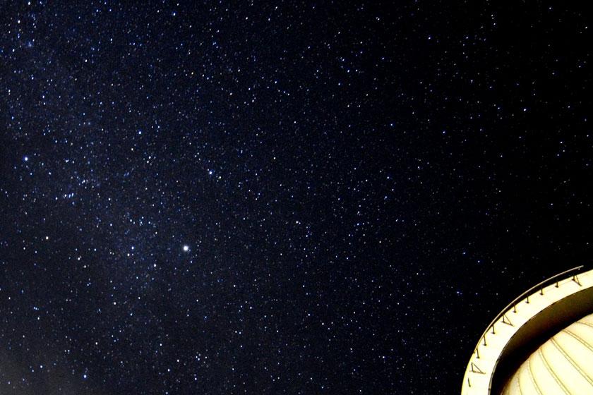 降るような星空。どれが星座か分からないくらい!