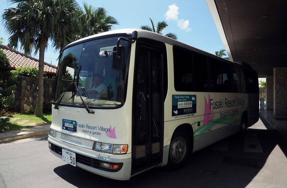 無料送迎シャトルバス発車時刻変更のお知らせ