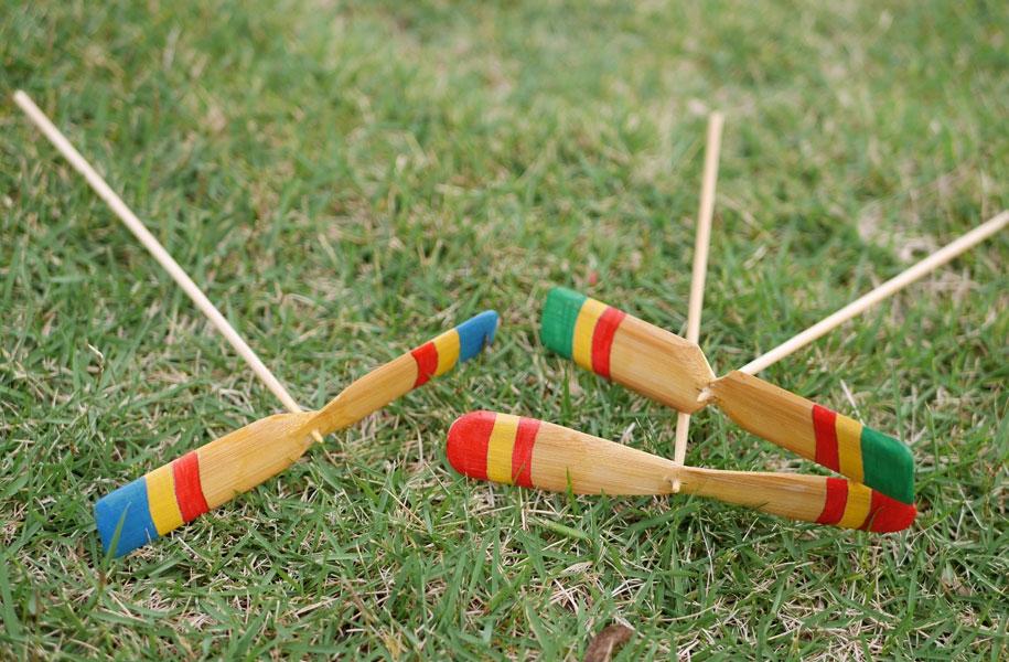 竹とんぼづくり親子教室開催!