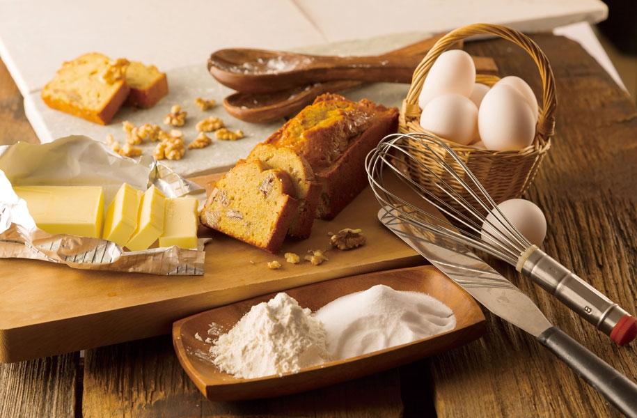 アートホテル石垣島のオリジナル引き菓子。パウンドケーキ