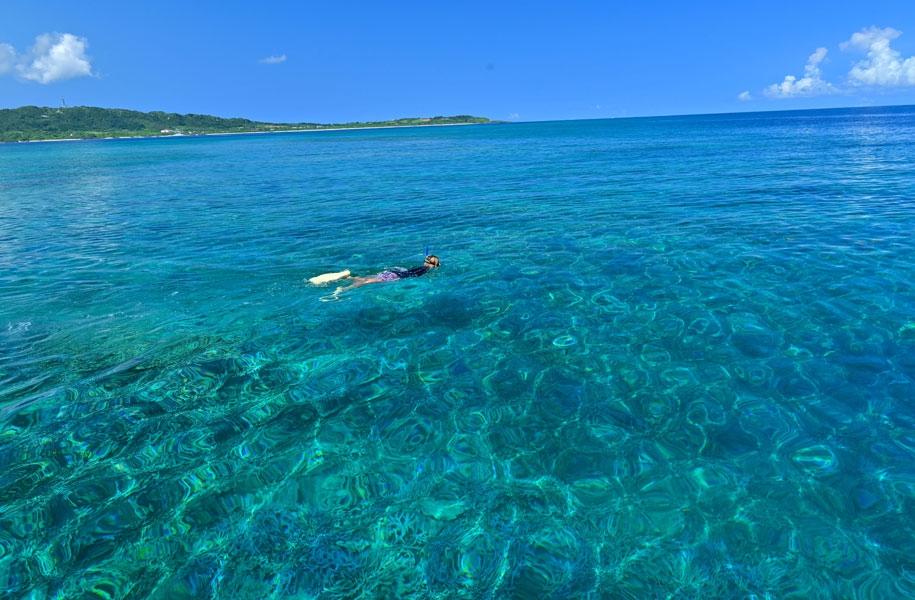 西表島は海も美しく、守りたい景色の一つ