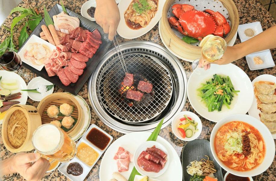 焼肉中華はるさーは、石垣牛や美崎牛など島のブランド牛が堪能できるほか、ホテル自慢の中華料理もお召し上がりいただけます。