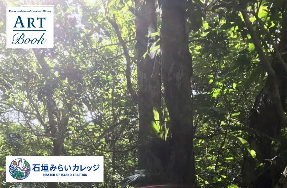 バンナ公園を散策して島の木を見るフィールドワーク