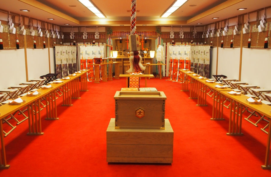 アートホテル石垣島2F八雲殿で初詣