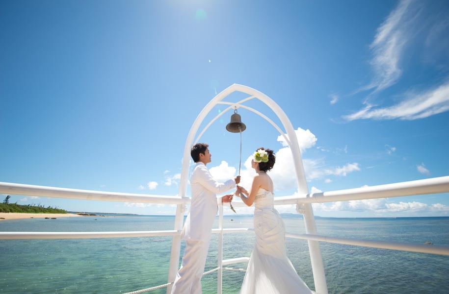 幸せの鐘を響かせて、永遠の愛を誓う・・・