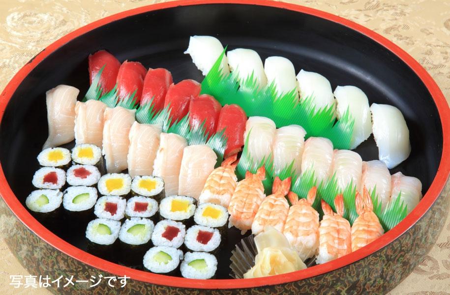 ケータリングサービス(石垣島内限定配達):寿司盛り合わせ