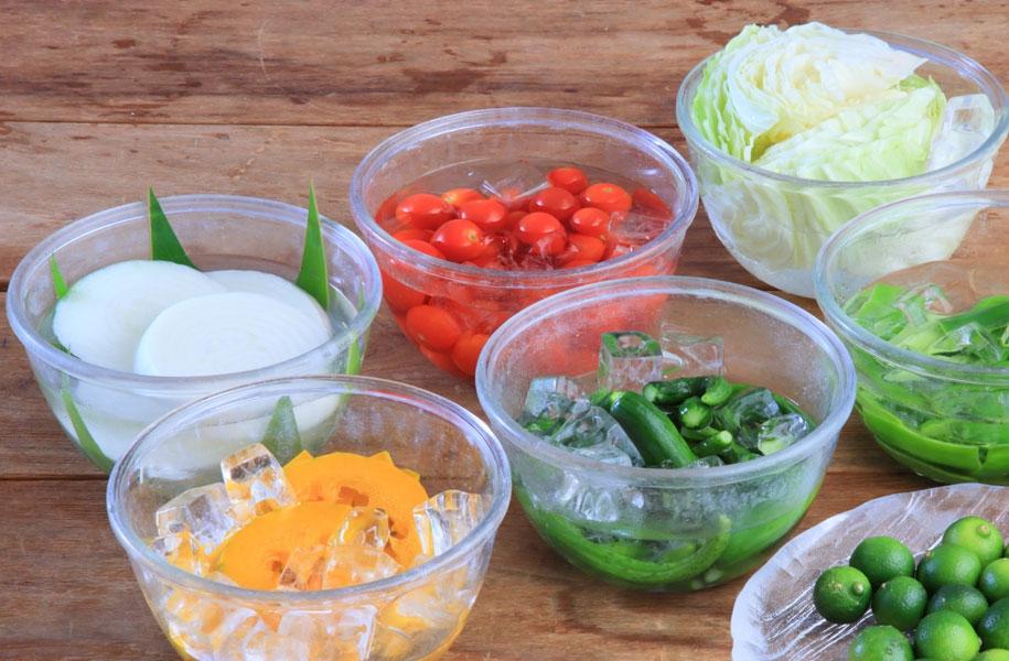 「はるさー(畑人)」は農業を営む人のこと。新鮮な野菜をお楽しみください