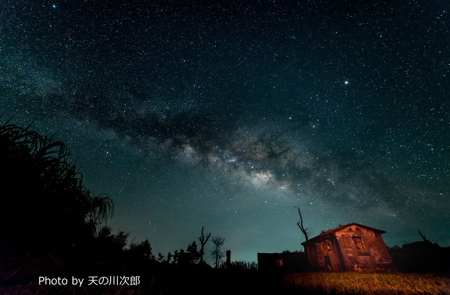 美しい石垣島の星空を自分のカメラで撮影。最近注目を集めている八重山の星空を自分の手で撮影!