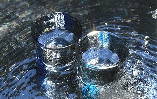 超軟水のお水